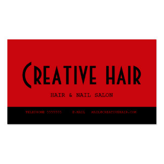 Hairdresser's Appointment Card Pack Of Standard Business Cards