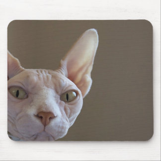 Hairless Cat Mouse Pad