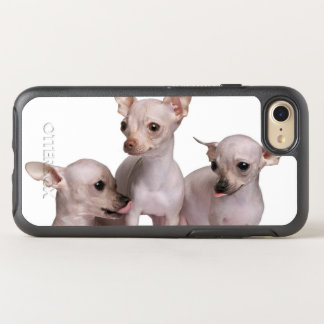 Hairless Chihuahua (5 and 7 months old) OtterBox Symmetry iPhone 8/7 Case