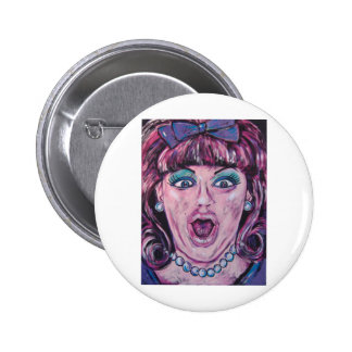 hairspray 6 cm round badge