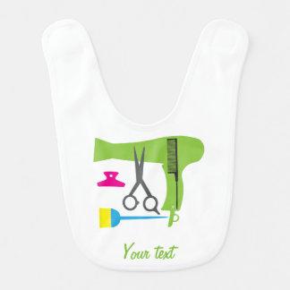 Hairstyle tools bib