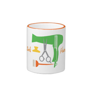 Hairstyle tools ringer mug