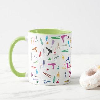 Hairstyles tools 2 mug