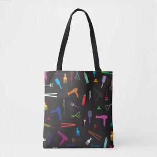 Hairstyles tools 2 tote bag