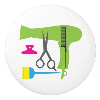 Hairstyles tools ceramic knob