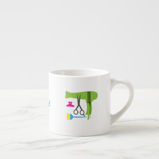 Hairstyles tools espresso cup