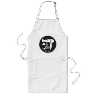 Hairstyles tools long apron