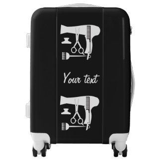 Hairstyles tools luggage