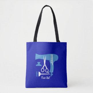 Hairstyles tools tote bag