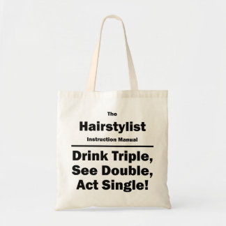 hairstylist canvas bags