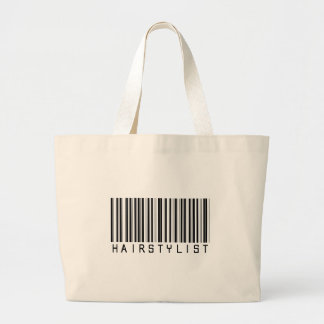 Hairstylist Bar Code Canvas Bags