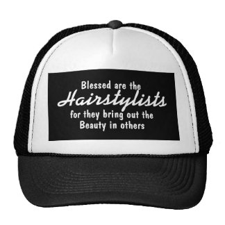 HAIRSTYLIST BLESSINGS HAT