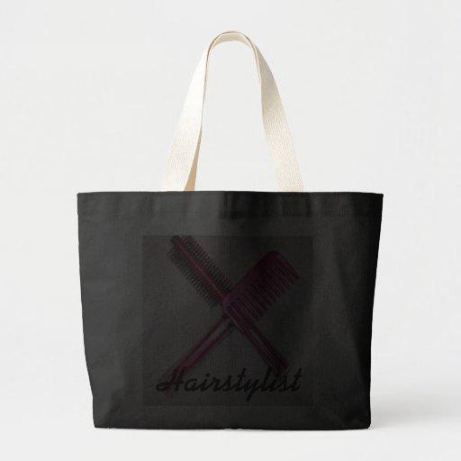 Hairstylist Jumbo Tote Bag