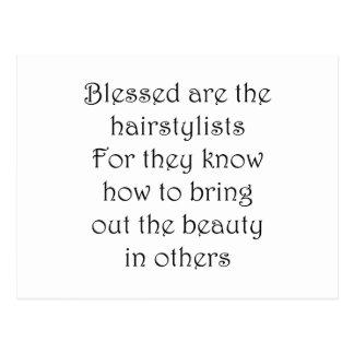 Hairstylist Postcard