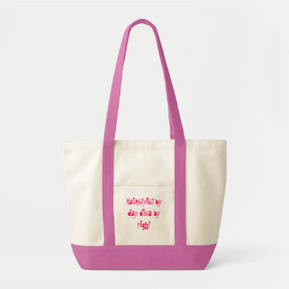 Hairstylist tote canvas bag