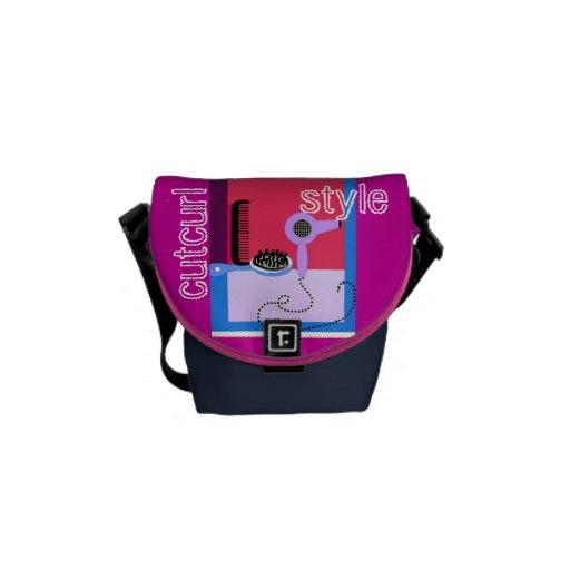 Hairstylist's messenger bag