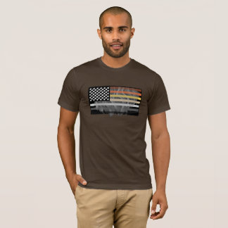 Hairy Bear Flag T-Shirt