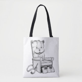 Hairy Boy Tote Bag
