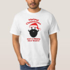 Hairy Christmas, Happy New Beard T-Shirt