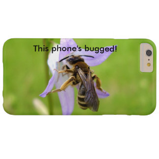 Hairy Footed Flower Bee Bugged iPhone Case