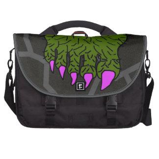 Hairy Green Monster Foot Commuter Bag