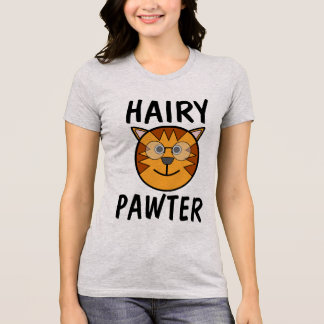 Hairy Pawter, Funny Cat T-shirts