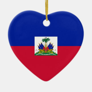 HAITI CERAMIC HEART DECORATION