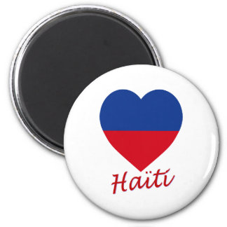Haiti civil Flag Heart Fridge Magnet
