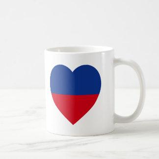 Haiti civil Flag Heart Mug