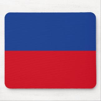 Haiti Civil Flag Mouse Pad