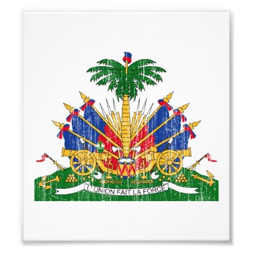 Haiti Coat Of Arms Photograph