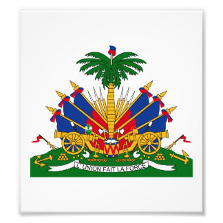 Haiti Coat Of Arms Photo Print