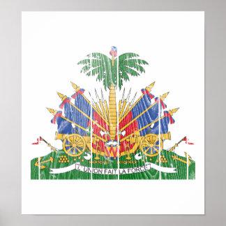 Haiti Coat Of Arms Posters