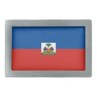 haiti country flag belt buckle