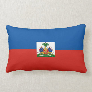 haiti country flag pillow