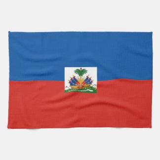haiti country flag towel