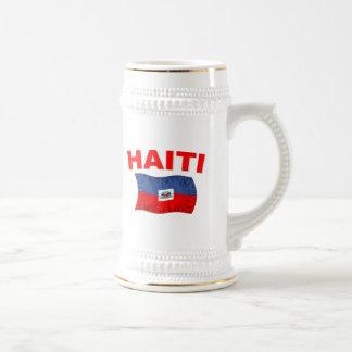 Haiti Earthquake Flag Design Coffee Mug