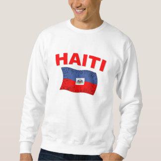 Haiti Earthquake Flag Design Sweatshirt
