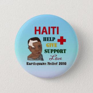 Haiti Earthquake Relief 2010 Button