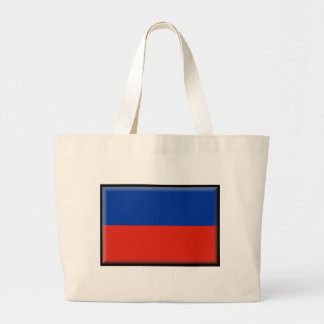 Haiti Flag Canvas Bag