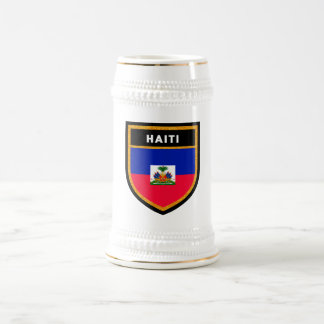 Haiti Flag Beer Stein