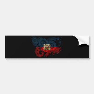 Haiti Flag Bumper Sticker