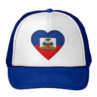 Haiti flag cap
