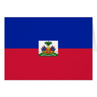 Haiti Flag Card