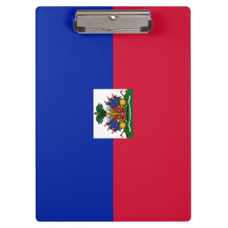 Haiti Flag Clipboard