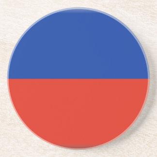 Haiti Flag Drink Coasters