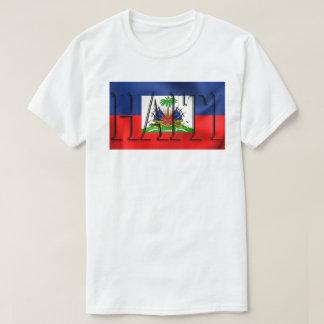 HAITI FLAG Custom Men's Tall Hanes T-Shirt