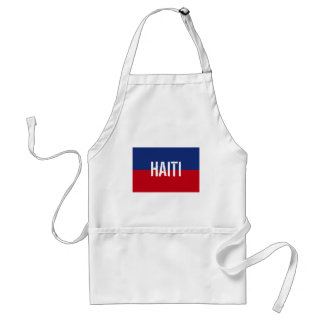 Haiti Flag Gifts Adult Apron