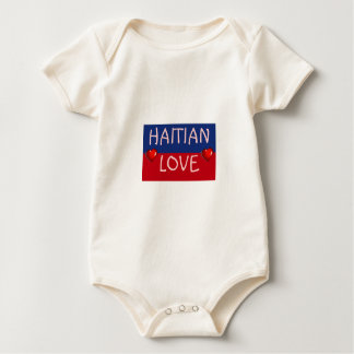 Haiti Flag Gifts Baby Bodysuit