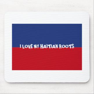 Haiti Flag Gifts Mouse Pad